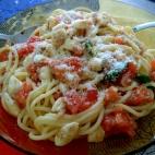 pasta alla crudaiola (trapanese) rivisitata